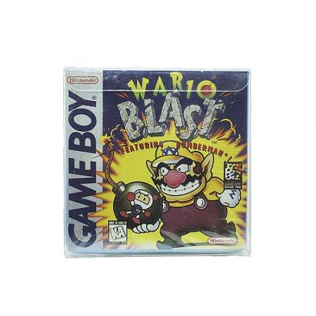 Jogo Wario Blast: Featuring Bomberman! - GBC - Game Boy