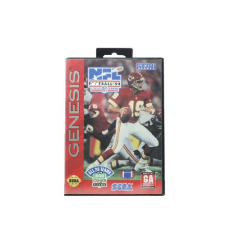 Jogo NFL Football '94 Starring Joe Montana - Mega Drive