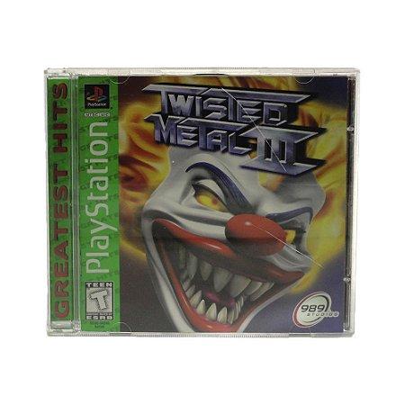 Jogo Twisted Metal III - PS1