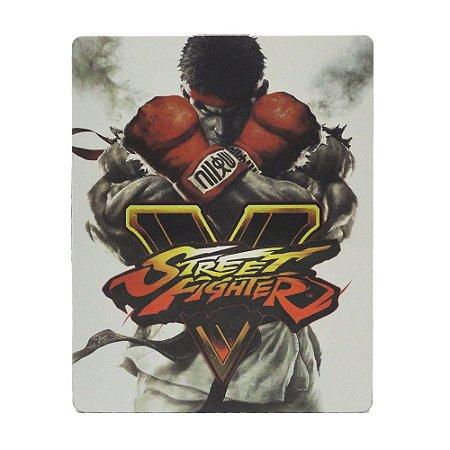 Jogo Street Fighter V (Steel Case) - PS4