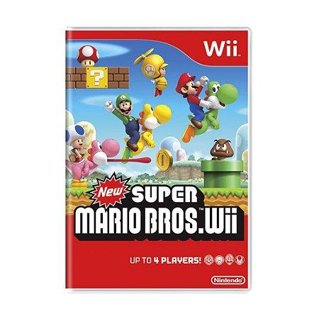 Jogo New Super Mario Bros - Wii
