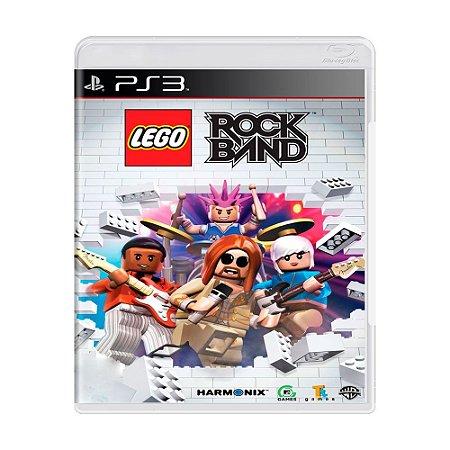 Jogo LEGO Rock Band - PS3