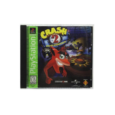 Jogo Crash Bandicoot 2: Cortex Strikes Back - PS1