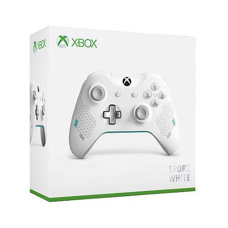 Controle Microsoft Sport White - Xbox One S