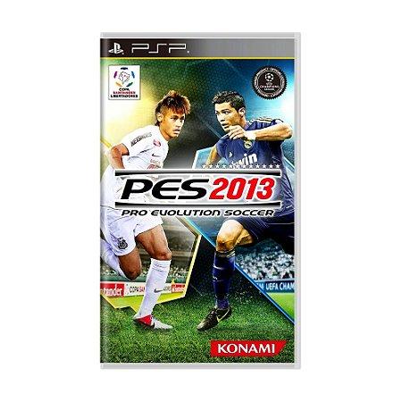 Jogo Pro Evolution Soccer 2013 (PES 13) - PSP