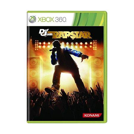 Jogo Def Jam Rapstar - Xbox 360