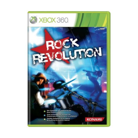 Jogo Rock Revolution - Xbox 360