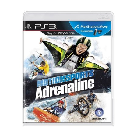 Jogo Motionsports Adrenaline - PS3