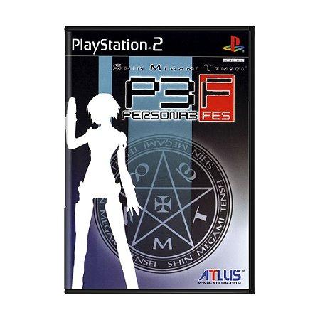Jogo Shin Megami Tensei: Persona 3 FES - PS2