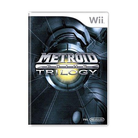 Jogo Metroid Prime Trilogy - Wii