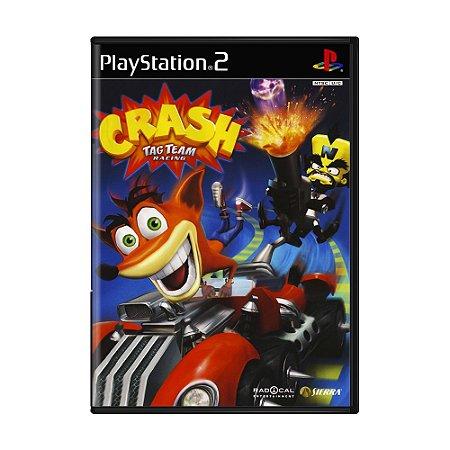 Jogo Crash Tag Team Racing - PS2