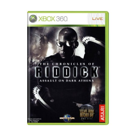 Jogo The Chronicles of Riddick: Assault on Dark Athena - Xbox 360