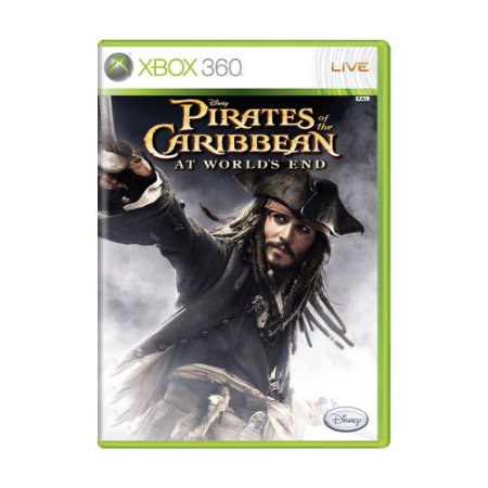 Jogo Pirates of the Caribbean At World's End - Xbox 360
