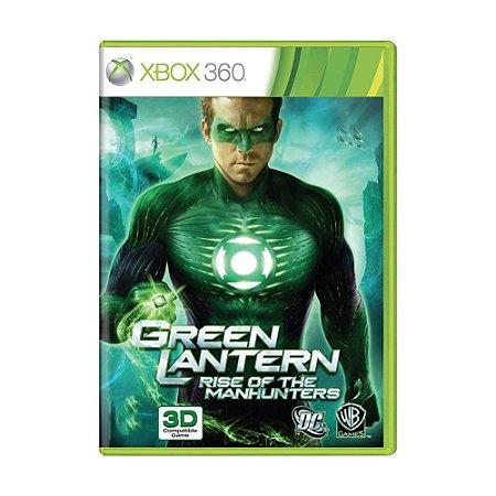Jogo Lanterna Verde: A Ascensão dos Caçadores Cósmicos - Xbox 360