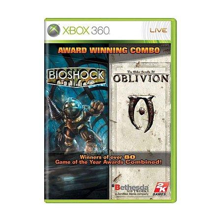 Jogo Bioshock & The Elder Scrolls IV Oblivion - Xbox 360