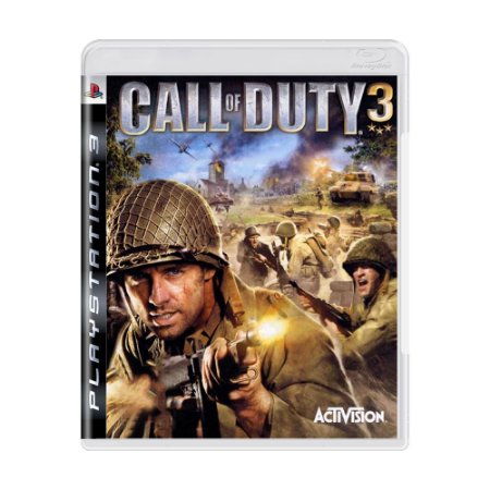 Jogo Call of Duty 3 - PS3