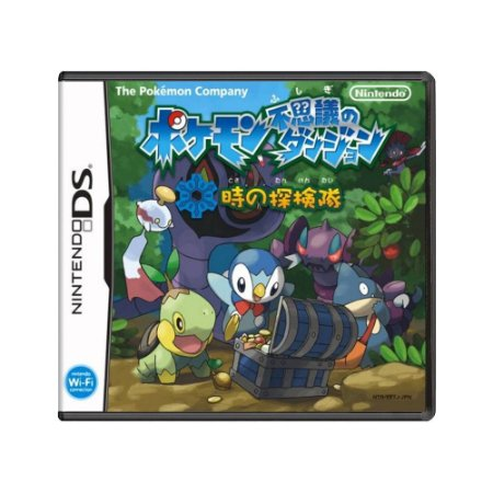 Jogo Pokémon Mystery Dungeon: Explorers of Time (Japonês) - DS