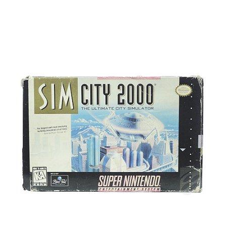Jogo Sim City 2000 - SNES
