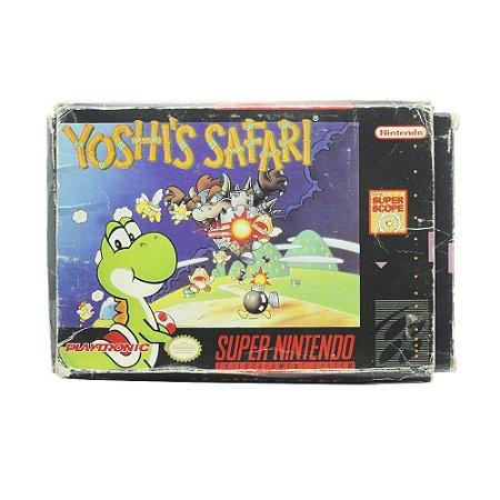 Jogo Yoshi's Safari - SNES