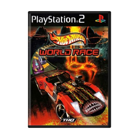 Jogo Hot Wheels World Race - PS2