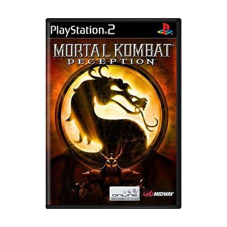 Jogo Mortal Kombat Deception - PS2