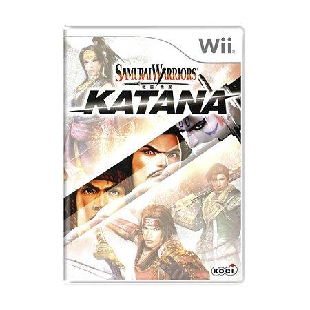 Jogo Samurai Warriors: Katana - Wii