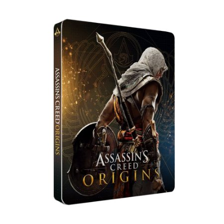 Jogo Assassin's Creed Origins (SteelCase) - PS4