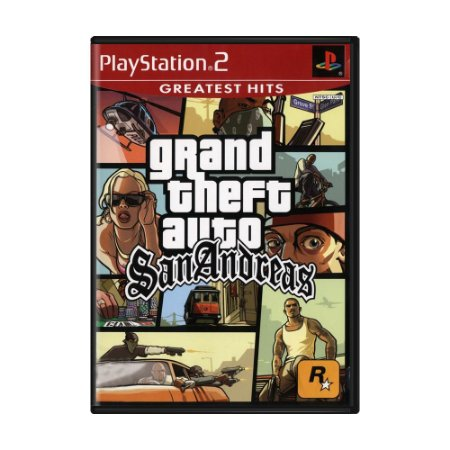 Jogo Grand Theft Auto: San Andreas - PS2
