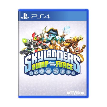 Jogo Skylanders Swap Force - PS4