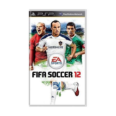 Jogo FIFA Soccer 12 - PSP