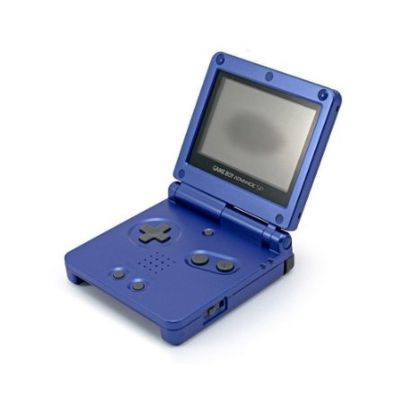 Console Game Boy Advance SP Azul Escuro (Mancha na Tela) - Nintendo