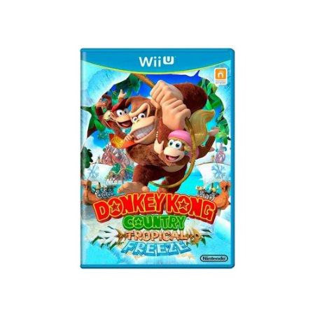 Jogo Donkey Kong Country: Tropical Freeze - Wii U