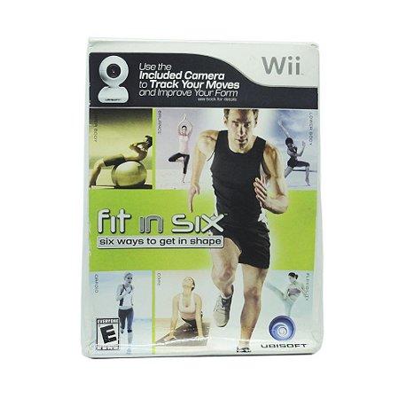Jogo Fit in Six: Six Ways to Get in Shape (Bundle) - Wii