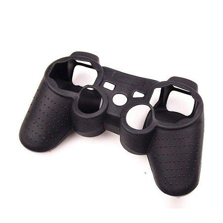 Capa de Silicone preta para Dualshock 3 - PS3