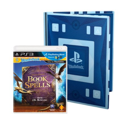 Jogo Wonderbook: Book of Spells + Wonderbook - PS3