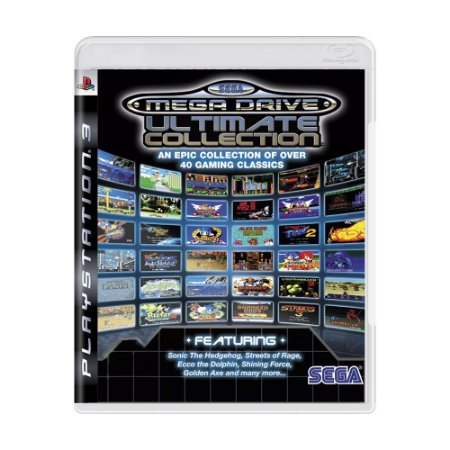 Jogo SEGA Mega Drive: Ultimate Collection - PS3
