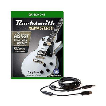 Jogo Rocksmith 2014 Edition Remastered + Cabo - Xbox One