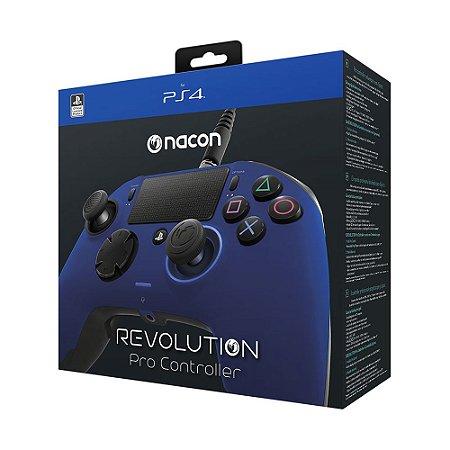 Controle Nacon PDP Revolution Pro Controller Azul - PS4