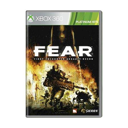 Jogo F.E.A.R - Xbox 360