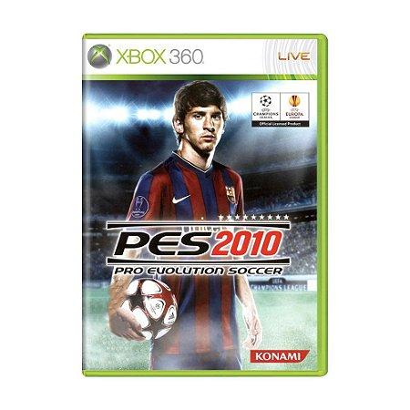 Jogo Pro Evolution Soccer 2010 (PES 10) - Xbox 360
