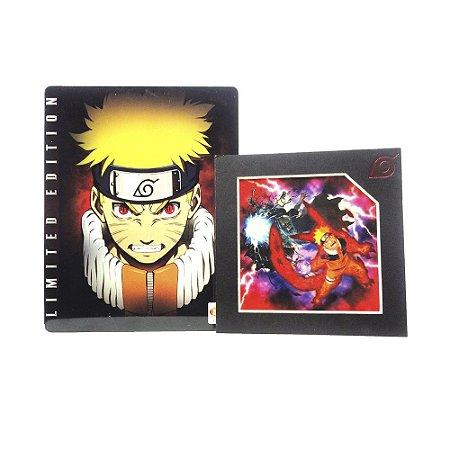 Jogo Naruto: Ultimate Ninja Storm (SteelCase) - PS3
