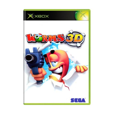 Jogo Worms 3D - Xbox