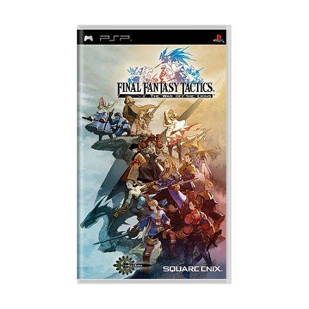 Jogo Final Fantasy Tactics: The war of Lions - PSP