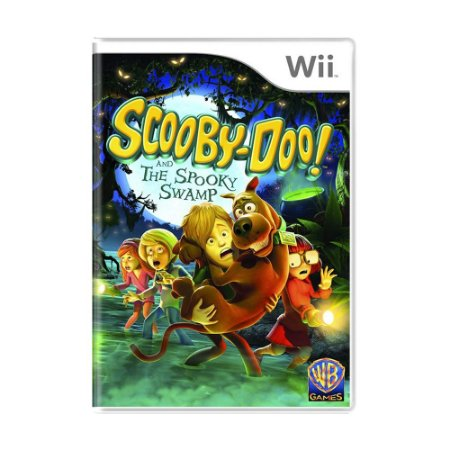 Jogo Scooby-Doo! and the Spooky Swamp - Wii