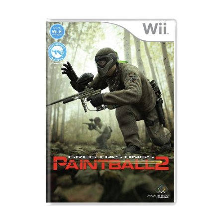Jogo Greg Hastings Paintball 2 - Wii