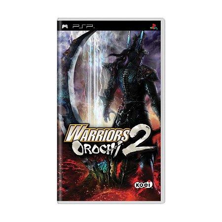 Jogo Warriors Orochi 2 - PSP