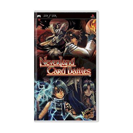 Jogo Neverland Card Battles - PSP