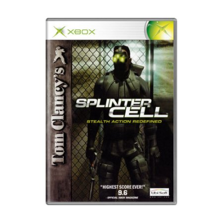 Jogo Tom Clancy's Splinter Cell: Stealth Action Redefined - Xbox