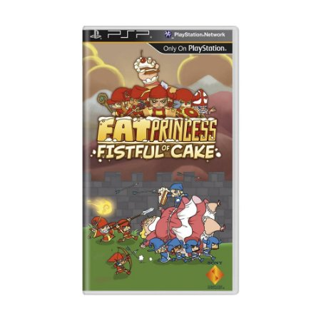 Jogo Fat Princess: Fistful of Cake - PSP