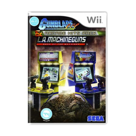 Jogo Arcade Hits Pack: Gunblade NY and L.A. Machineguns - Wii